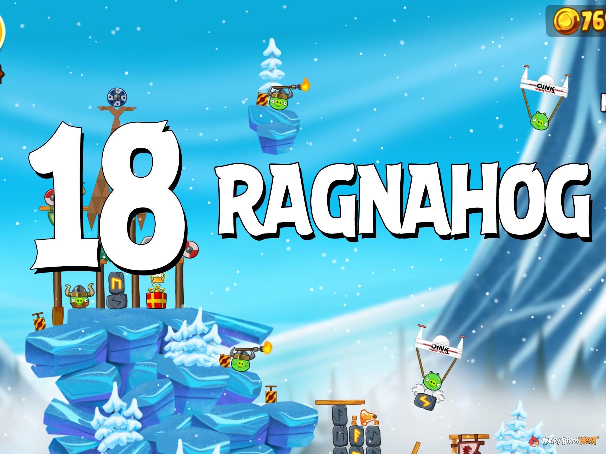Angry Birds Seasons Ragnahog Level 1-18 Walkthrough ...