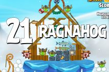 Angry Birds Seasons Ragnahog Level 1-21 Walkthrough