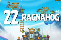 Angry Birds Seasons Ragnahog Level 1-22 Walkthrough