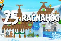 Angry Birds Seasons Ragnahog Level 1-25 Walkthrough
