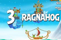 Angry Birds Seasons Ragnahog Level 1-3 Walkthrough