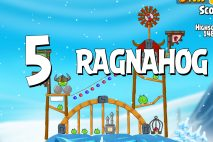 Angry Birds Seasons Ragnahog Level 1-5 Walkthrough