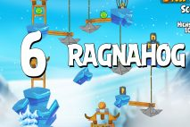 Angry Birds Seasons Ragnahog Level 1-6 Walkthrough