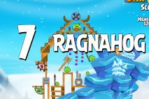 Angry Birds Seasons Ragnahog Level 1-7 Walkthrough