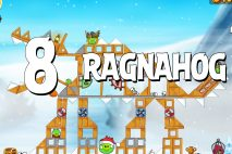 Angry Birds Seasons Ragnahog Level 1-8 Walkthrough