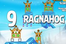 Angry Birds Seasons Ragnahog Level 1-9 Walkthrough