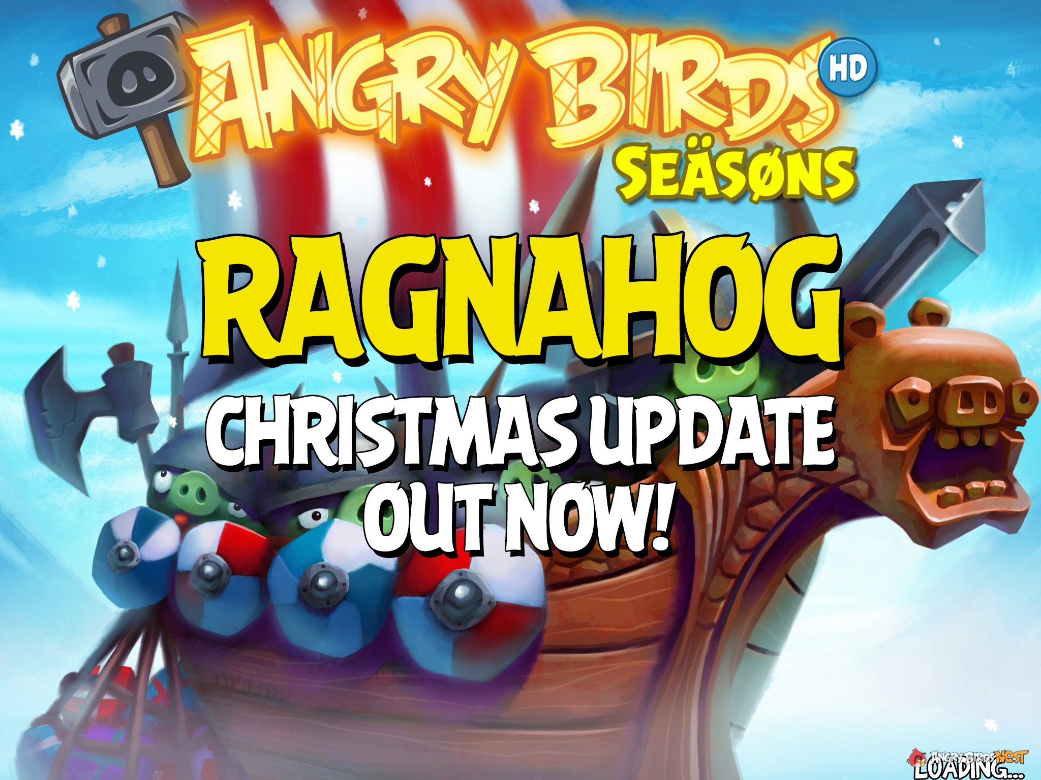 Angry Birds Seasons Ragnahog Christmas Update Out Now! | AngryBirdsNest