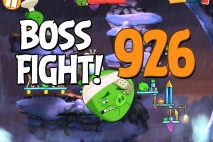 Angry Birds 2 Boss Fight Level 926 Walkthrough – Cobalt Plateaus Pigfoot Mountains