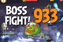 Angry Birds 2 Boss Fight Level 933 Walkthrough – Cobalt Plateaus Pigfoot Mountains