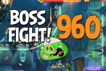 Angry Birds 2 Boss Fight Level 960 Walkthrough – Bamboo Forest Central Pork