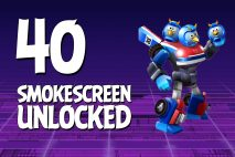 Let's Play Angry Birds Transformers | Part 40 | Smokescreen
