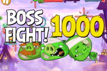 Angry Birds 2 Boss Fight Level 1000 Walkthrough – Pig City Hamsterdam