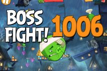 Angry Birds 2 Boss Fight Level 1006 Walkthrough – Pig City Hamsterdam