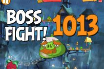 Angry Birds 2 Boss Fight Level 1013 Walkthrough – Pig City Hamsterdam