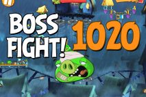 Angry Birds 2 Boss Fight Level 1020 Walkthrough – Pig City Hamsterdam