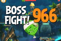 Angry Birds 2 Boss Fight Level 966 Walkthrough – Bamboo Forest Central Pork