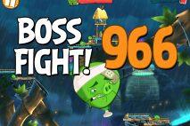 Angry Birds 2 Boss Fight Level 966 Walkthrough – Bamboo Forest Central Pork