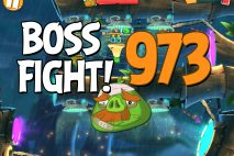 Angry Birds 2 Boss Fight Level 973 Walkthrough – Bamboo Forest Central Pork