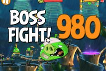 Angry Birds 2 Boss Fight Level 980 Walkthrough – Bamboo Forest Central Pork