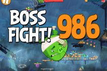 Angry Birds 2 Boss Fight Level 986 Walkthrough – Pig City Hamsterdam