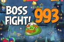Angry Birds 2 Boss Fight Level 993 Walkthrough – Pig City Hamsterdam