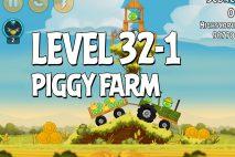 Angry Birds Piggy Farm Level 32-1 Walkthrough