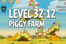 Angry Birds Piggy Farm Level 32-12 Walkthrough