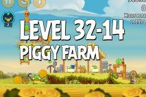 Angry Birds Piggy Farm Level 32-14 Walkthrough