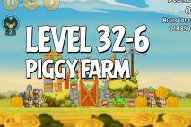 Angry Birds Piggy Farm Level 32-6 Walkthrough