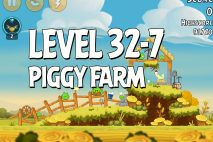 Angry Birds Piggy Farm Level 32-7 Walkthrough