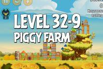 Angry Birds Piggy Farm Level 32-9 Walkthrough