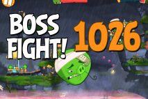 Angry Birds 2 Boss Fight Level 1026 Walkthrough – Cobalt Plateaus Missispiggy Rivers