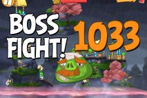 Angry Birds 2 Boss Fight Level 1033 Walkthrough – Cobalt Plateaus Missispiggy Rivers