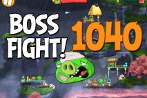 Angry Birds 2 Boss Fight Level 1040 Walkthrough – Cobalt Plateaus Missispiggy Rivers