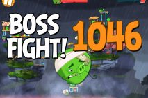 Angry Birds 2 Boss Fight Level 1046 Walkthrough – Cobalt Plateaus Missispiggy Rivers