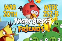 Angry Birds Friends 2017 Tournament 252-B On Now!