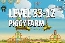 Angry Birds Piggy Farm Level 33-12 Walkthrough