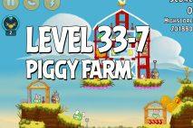 Angry Birds Piggy Farm Level 33-7 Walkthrough