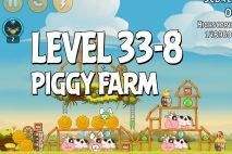 Angry Birds Piggy Farm Level 33-8 Walkthrough
