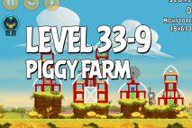 Angry Birds Piggy Farm Level 33-9 Walkthrough