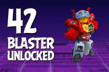 Let's Play Angry Birds Transformers | Part 42 | Blaster