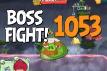 Angry Birds 2 Boss Fight Level 1053 Walkthrough – Cobalt Plateaus Missispiggy Rivers
