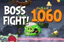 Angry Birds 2 Boss Fight Level 1060 Walkthrough – Cobalt Plateaus Missispiggy Rivers