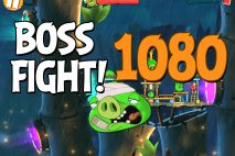 Angry Birds 2 Boss Fight Level 1080 Walkthrough – Bamboo Forest Boarneo