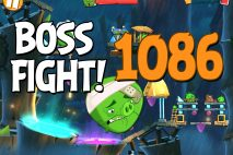 Angry Birds 2 Boss Fight Level 1086 Walkthrough – Bamboo Forest Boarneo