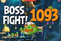 Angry Birds 2 Boss Fight Level 1093 Walkthrough – Bamboo Forest Boarneo