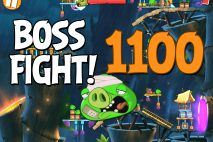 Angry Birds 2 Boss Fight Level 1100 Walkthrough – Bamboo Forest Boarneo