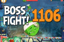 Angry Birds 2 Boss Fight Level 1106 Walkthrough – Pig City Got Ham City
