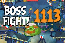 Angry Birds 2 Boss Fight Level 1113 Walkthrough – Pig City Got Ham City