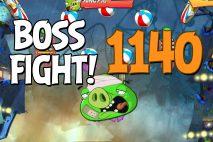 Angry Birds 2 Boss Fight Level 1140 Walkthrough – Pig City Got Ham City